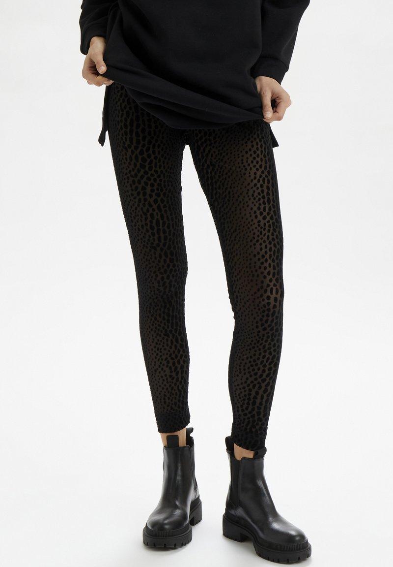 Cream - CRDEBBIE  - Leggings - Trousers - pitch black