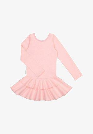 LONG SLEEVED DRESS FRILLA - Day dress - romance pink