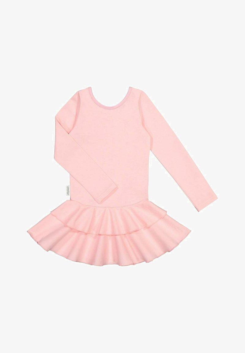 GUGGUU - LONG SLEEVED DRESS FRILLA - Day dress - romance pink