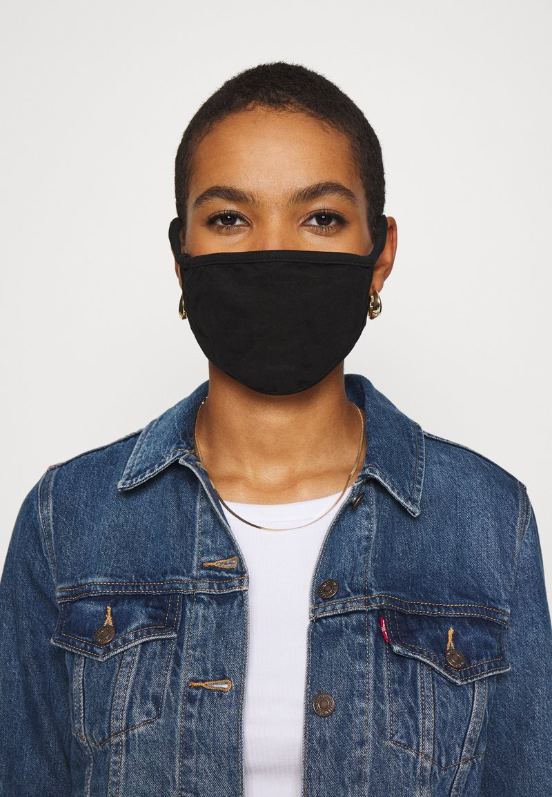 Urban Classics - 2 PACK - Maska z tkaniny - black