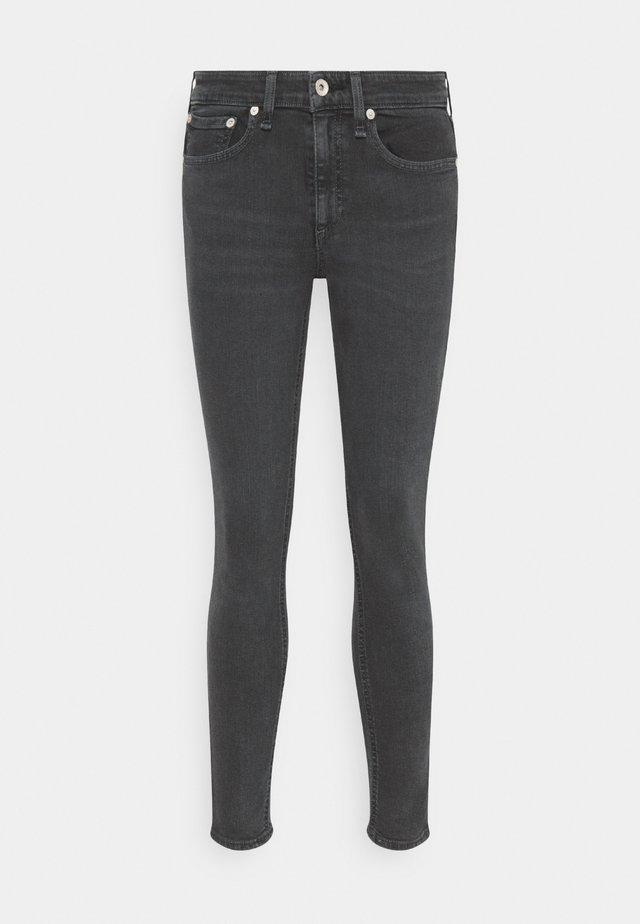 CATE MID RISE ANKLE - Skinny džíny - dark grey