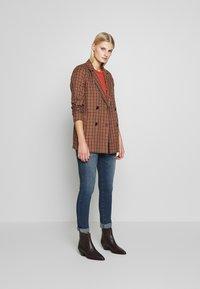 LTB - MOLLY - Slim fit jeans - dark blue denim - 1