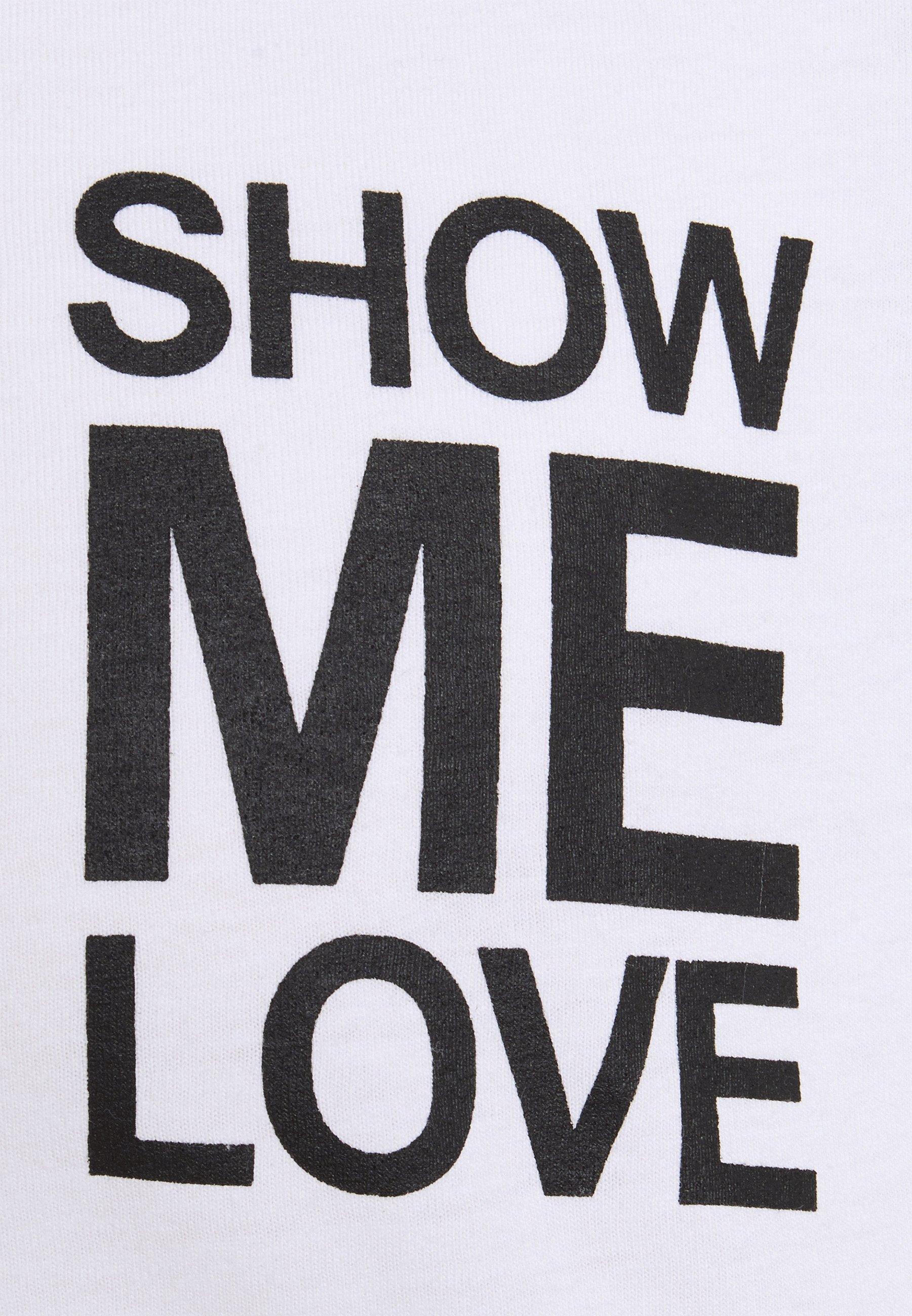 Men SHOW ME LOVE TEE UNISEX - Print T-shirt