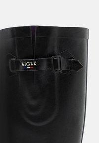 Aigle - Wellies - noir - 5