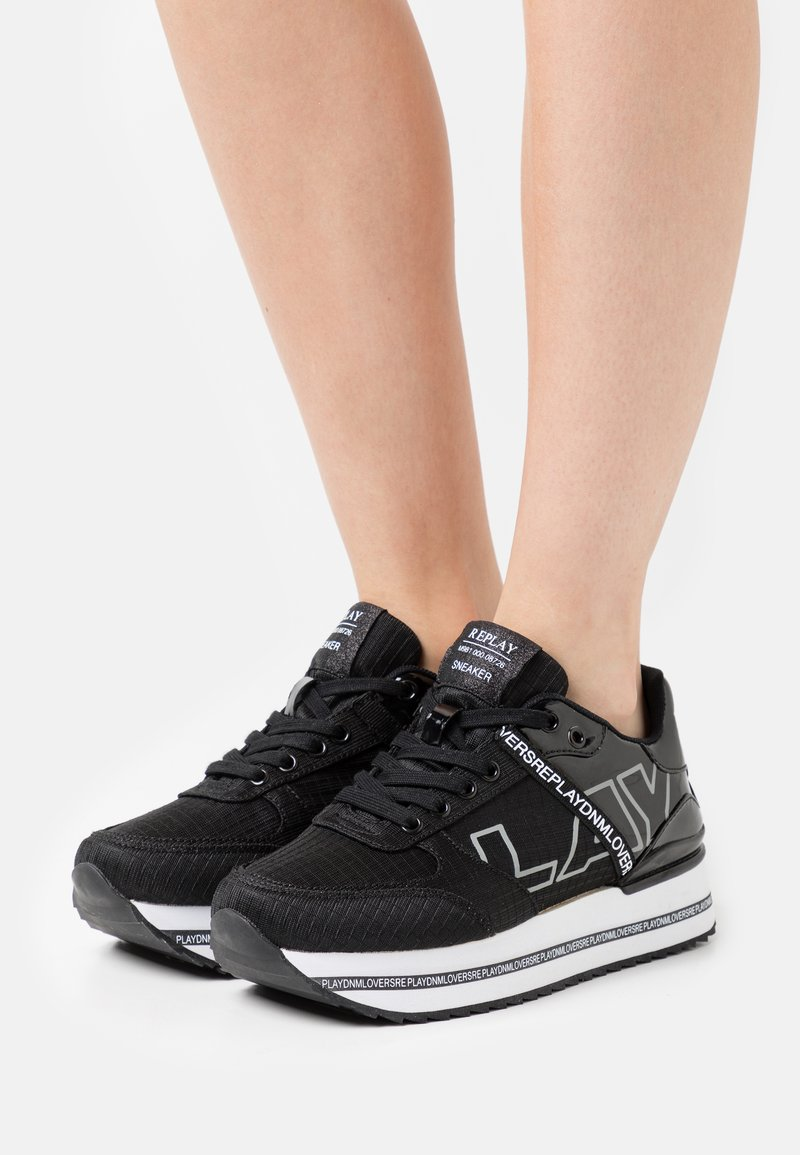 Replay - BISHOP - Sneakers basse - black