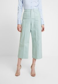 Mos Mosh - NIGHT PANT SUSTAINABLE - Trousers - mint haze - 0