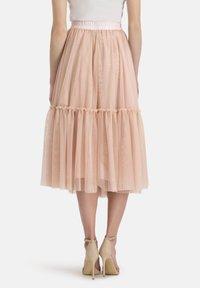 Nicowa - Pleated skirt - lachs - 2