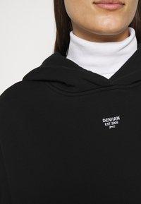 Denham - MACE HOODY - Sweatshirt - black - 6