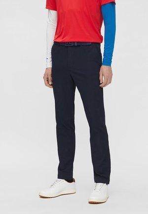 AXIL FLEECE TWILL - Pantalon classique - jl navy