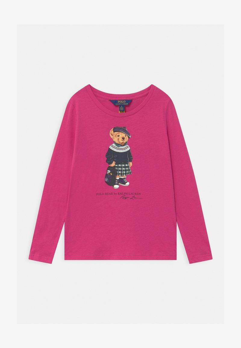 Polo Ralph Lauren - BEAR - Top sdlouhým rukávem - college pink