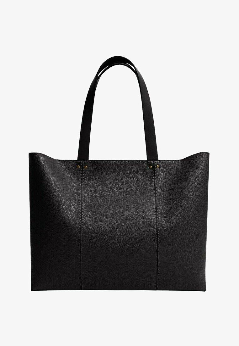 Mango - ROMI - Shopper - zwart