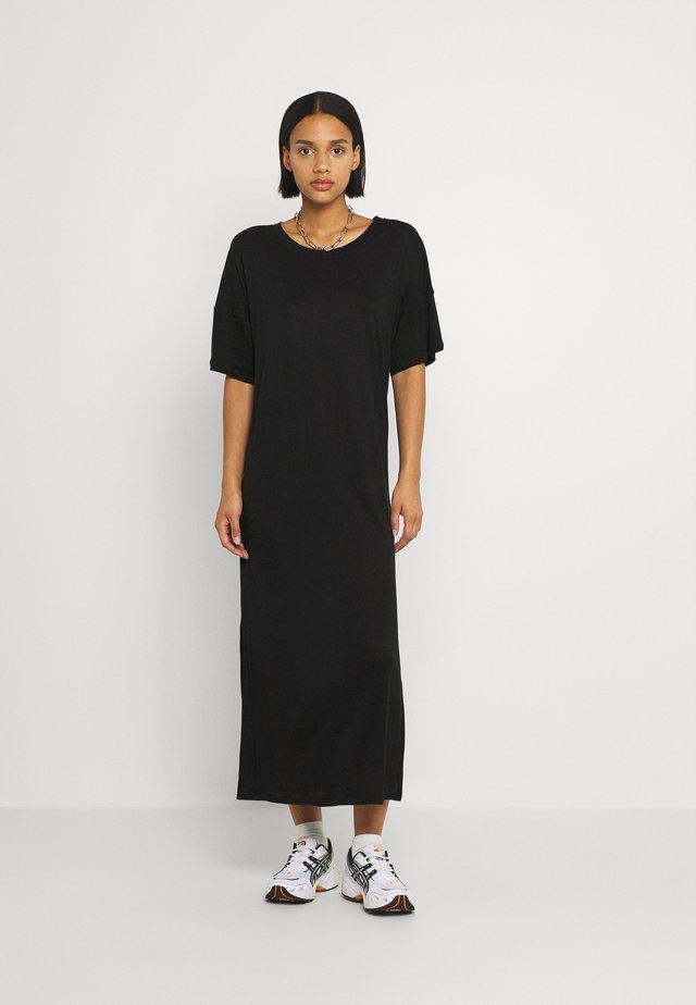 LONG DRESS RONNEBY  - Jersey dress - black