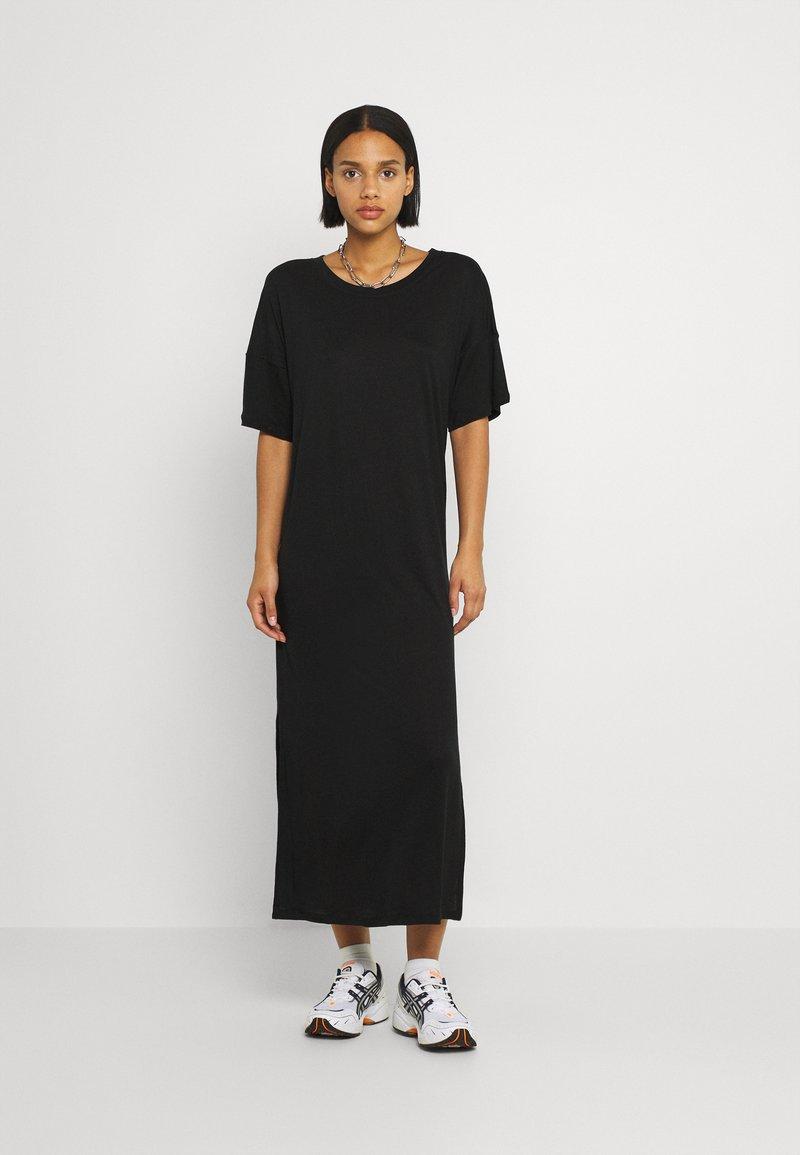 Dedicated - LONG DRESS RONNEBY  - Žerzejové šaty - black