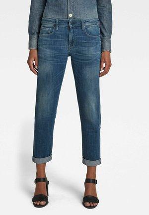 KATE BOYFRIEND - Straight leg jeans - faded spruce blue