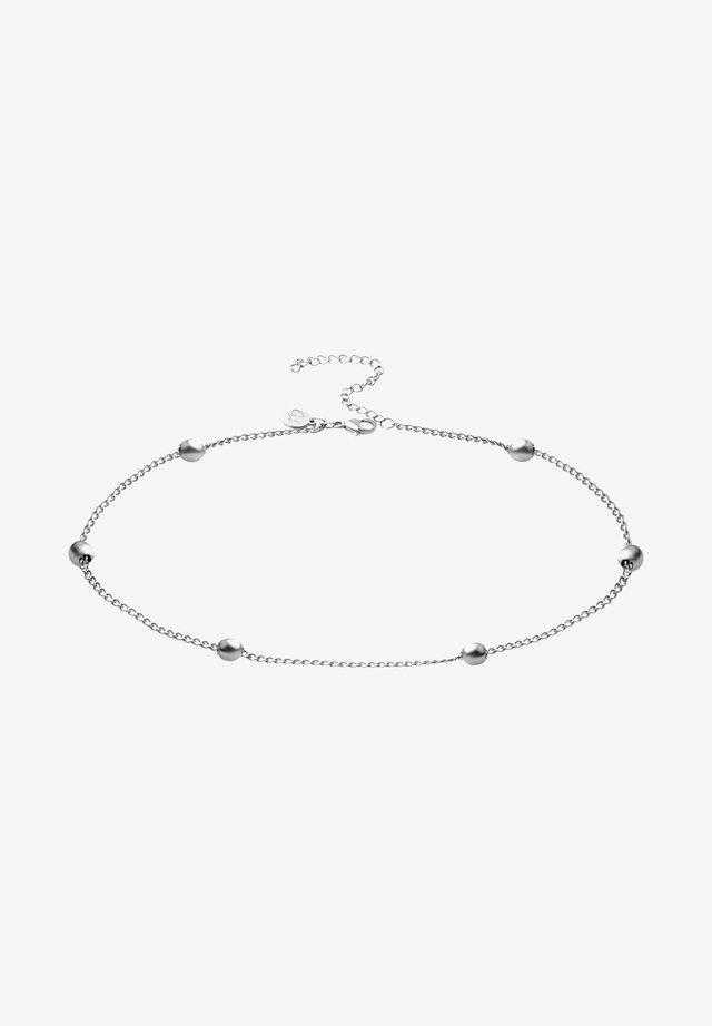 MIT KUGELN - Armband - silber