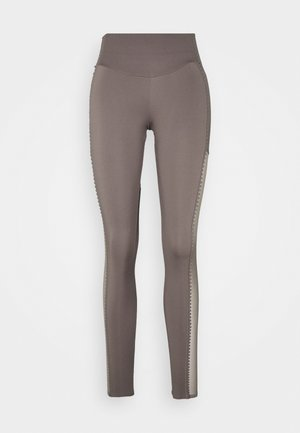 SCALLOP LEGGING - Tights - grey