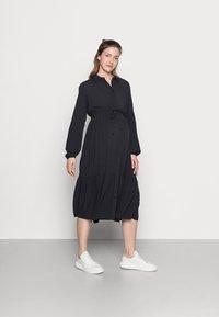 MAMALICIOUS - MLFAUNA DRESS - Košilové šaty - dark navy - 0