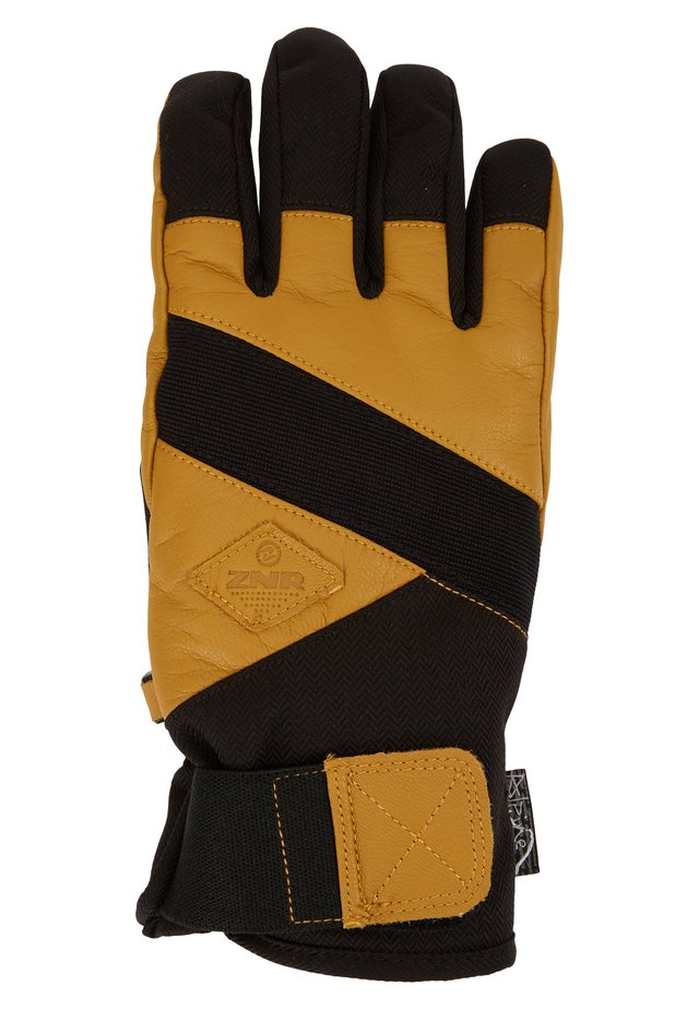 GIX AS GLOVE SKI ALPINE - Sormikkaat - black
