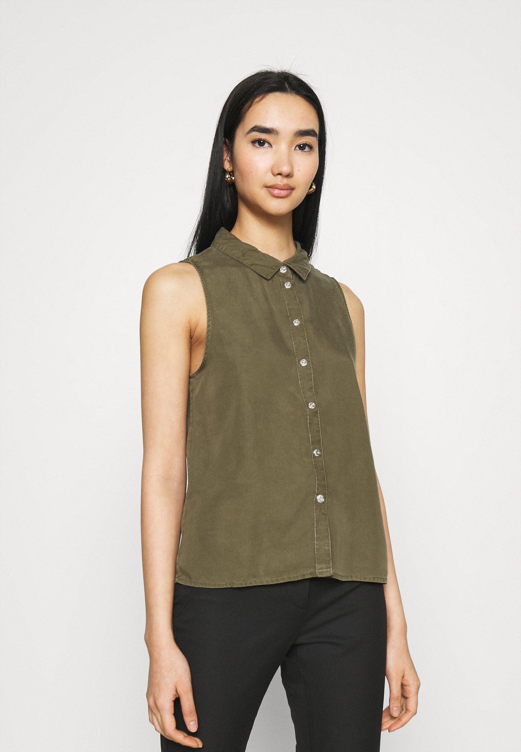 Women NMDANNY ENDI - Button-down blouse