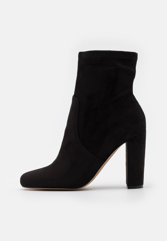 SERENN - High heeled ankle boots - black