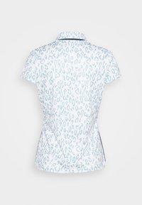 J.LINDEBERG - CARA GOLF - Polo shirt - animal blue white - 1