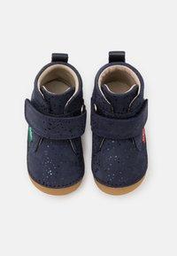 Kickers - SABIO - Dětské boty - marine metallique - 3