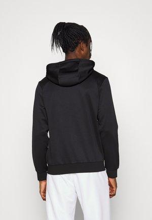 JACKET TAPERED ZIP - Sportovní bunda - black