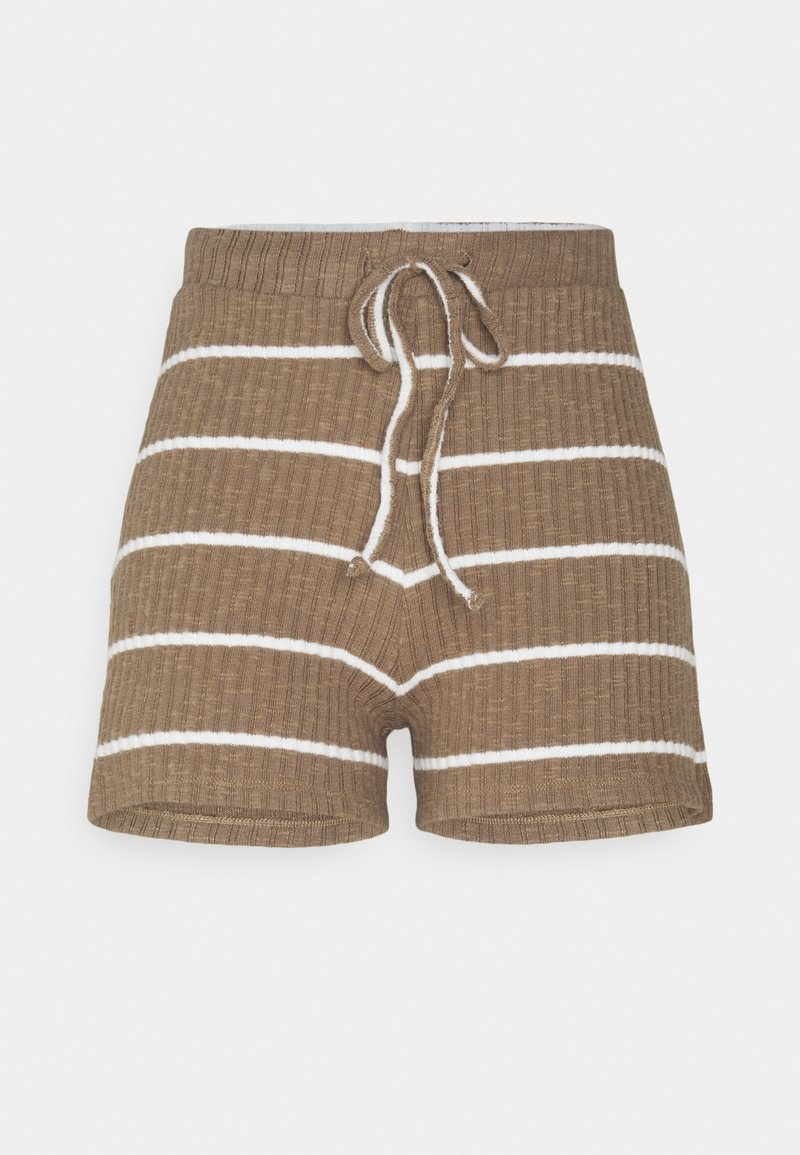 ONLY - ONLCARLA - Shorts - toasted coconut/cloud dancer