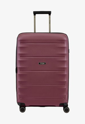 HIGHLIGHT - Wheeled suitcase - bordeaux