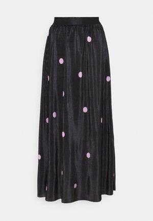 ONLLENA SKIRT - Maxi skirt - black