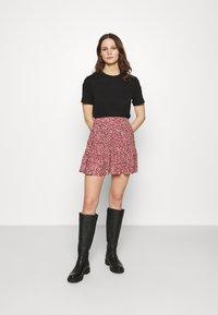 Mavi - PRINTED SKIRT - Mini skirt - mesa rose - 1