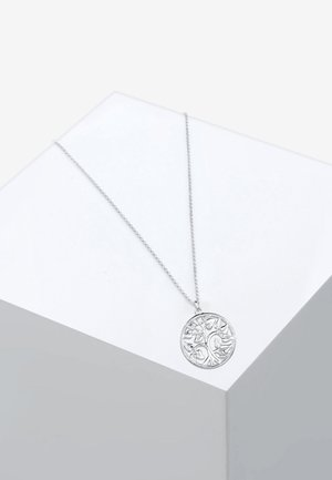 MÜNZE TREE OF LIFE LEBENSBAUM  - Necklace - silver-coloured