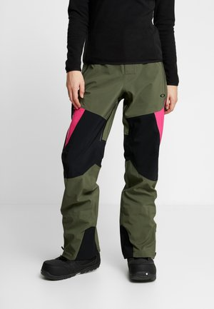 PHOENIX 2.0 SHELL PANT - Snow pants - dark brush
