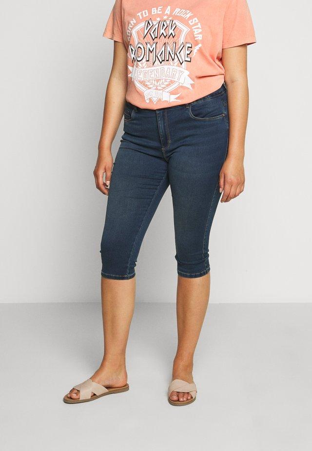 CARAUGUSTA LIFE KNICKERS - Denim shorts - medium blue denim