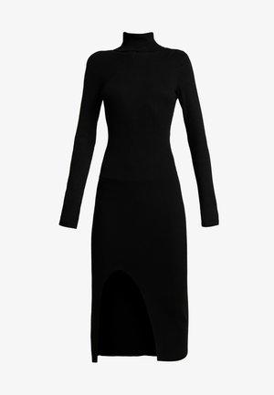 YASSBIRIELLA ROLLNECK DRESS - Etui-jurk - black