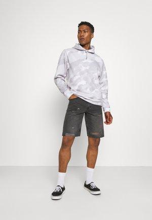 ONSAVI LIFE - Denim shorts - black denim