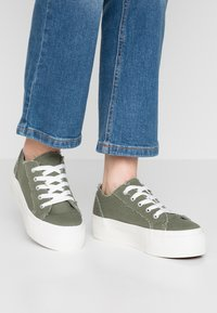 Even&Odd - Trainers - khaki - 0
