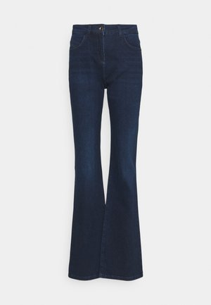 PANTALONI TROUSERS - Jeansy Dzwony - washed blue