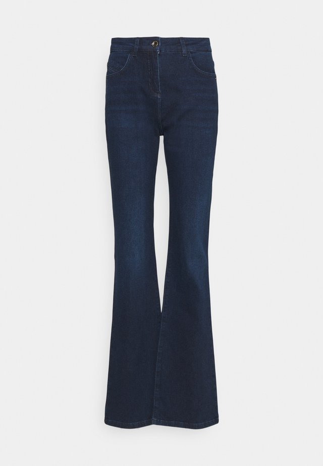 PANTALONI TROUSERS - Jeans a zampa - washed blue