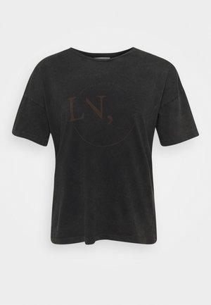 HANKY - Print T-shirt - dark shadow