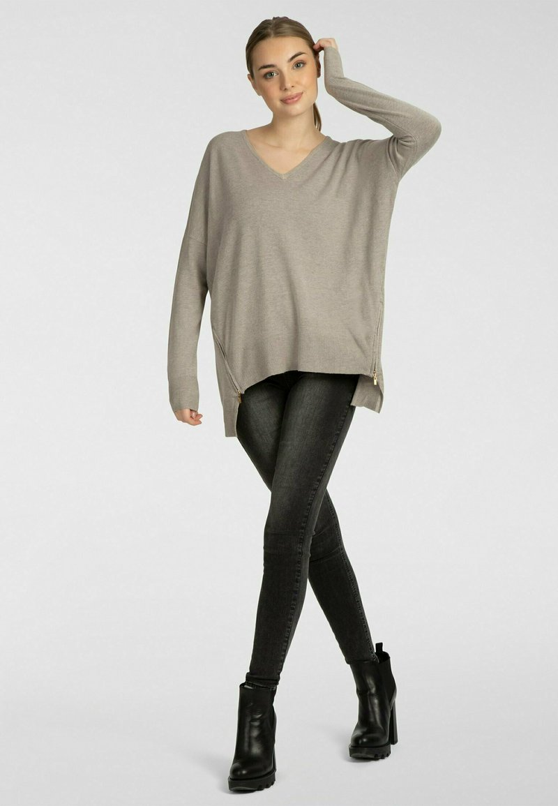 Apart - Pullover - taupe