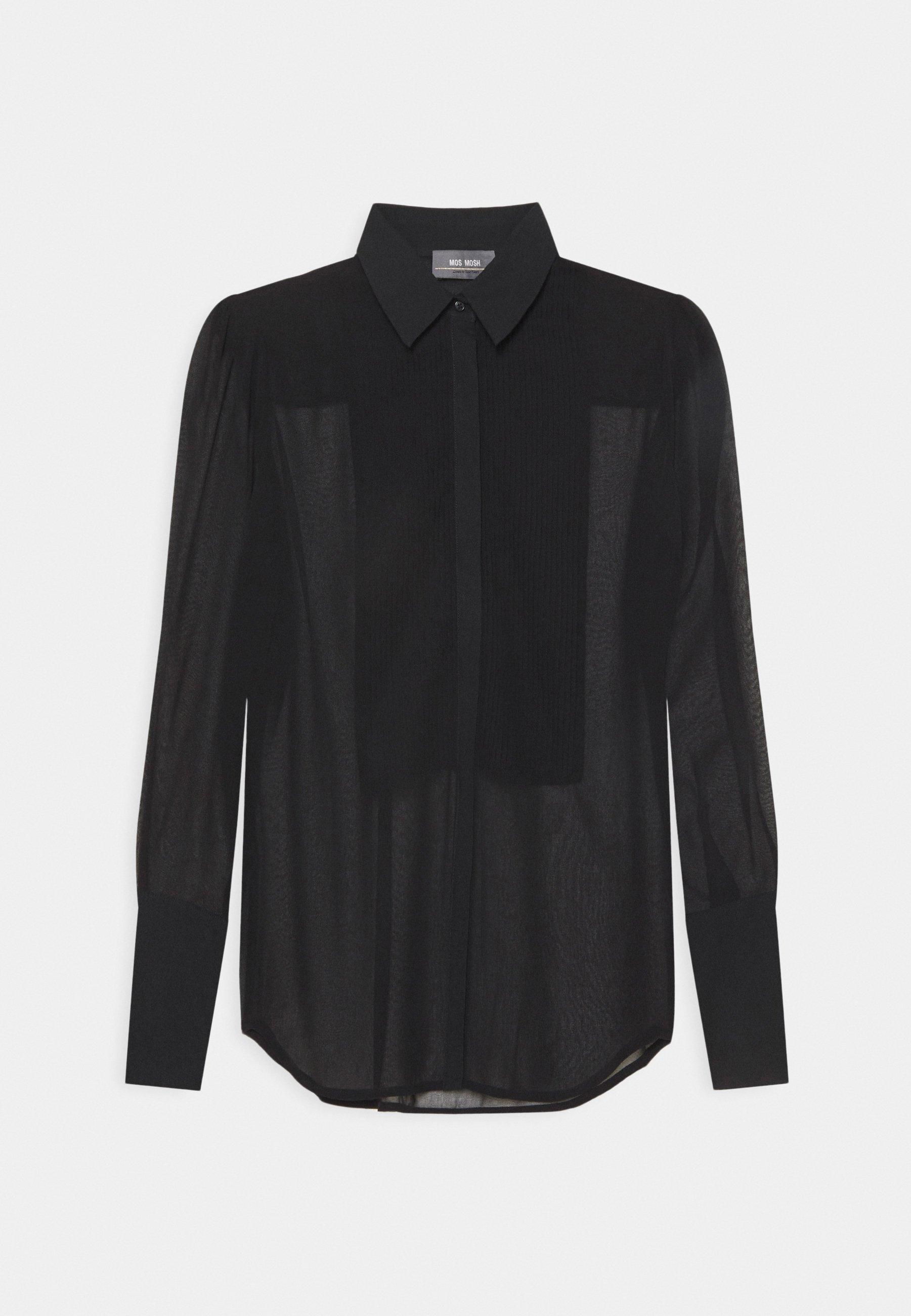 Women LUCKY SHEER - Button-down blouse