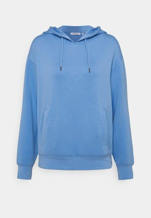 LOGO HOOD  - Long sleeved top - lake blue