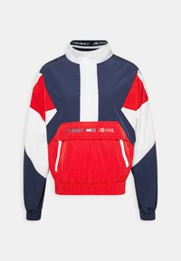 Tommy Jeans - COLORBLOCK LOGO - Windbreaker - deep crimson/multi - 4
