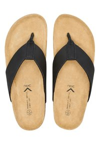 Next - T-bar sandals - black