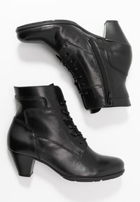 Gabor - Lace-up ankle boots - schwarz - 3