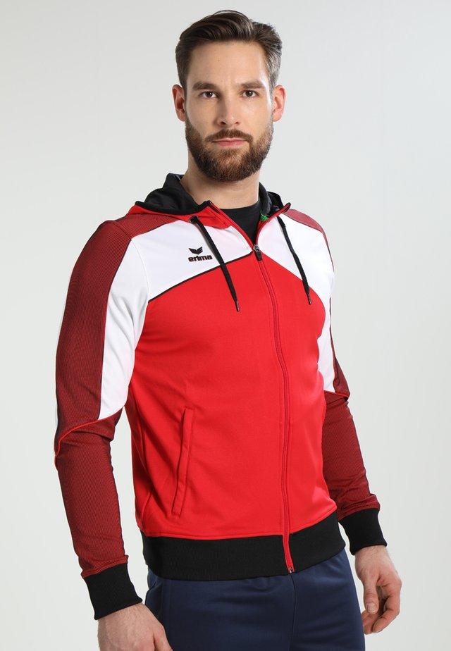 PREMIUM ONE 2.0 - Training jacket - red/white/black