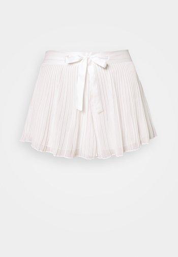 TRUE LOVE SHORT - Pyjama bottoms - ecru