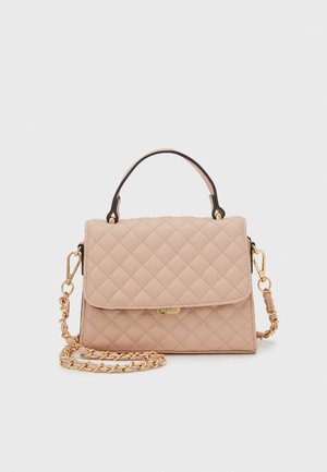 KIBARA - Handbag - pink nude/light gold