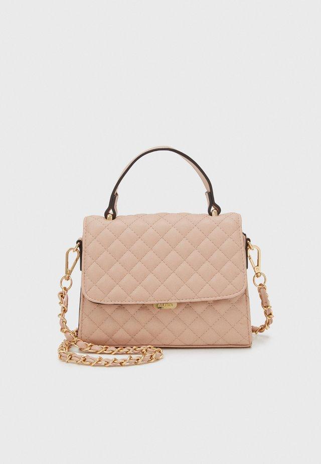 KIBARA - Handtasche - pink nude/light gold